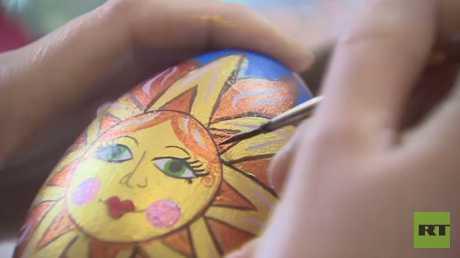 فن الرسم على بيض عيد الفصح