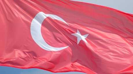 العلم التركي- أرشيف -