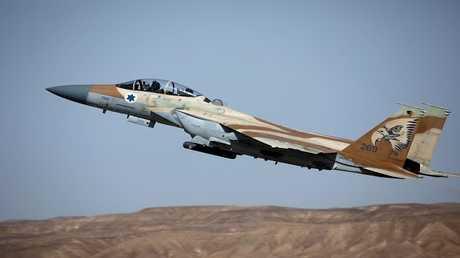مقاتلة حربية إسرائيلية