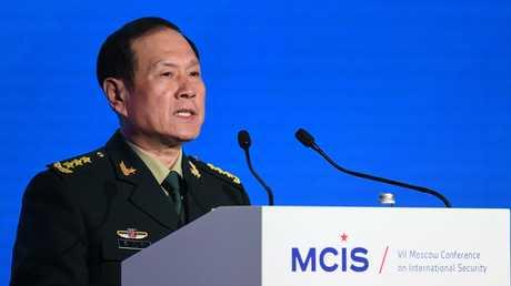 وزير الدفاع الصيني في موسكو - 04/04/18