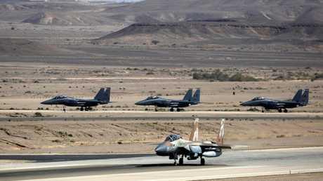 """مقاتلات """"اف-15"""" الإسرائيلية، أرشيف"""