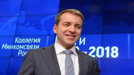 وزير الاتصالات والإعلام الروسي نيكولاي نيكيفوروف