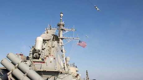 """مدمرة """"USS Donald Cook"""" الصاروخية الأمريكية، أرشيف"""