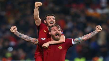 روما يحقق المعجزة في أبطال أوروبا