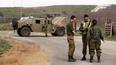 الجنود الإسرائيليون في مرتفعات الجولان