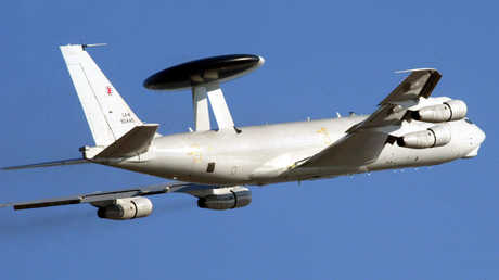 طائرة E-3A AWACS