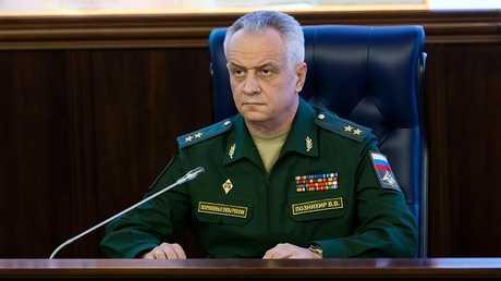 النائب الأول لرئيس مركز إدارة العمليات التابع لهيئة الأركان الروسية، اللواء فيكتور بوزنيخير