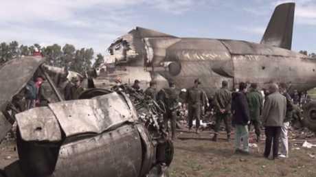 مقتل 257 شخصا بتحطم طائرة عسكرية جزائرية