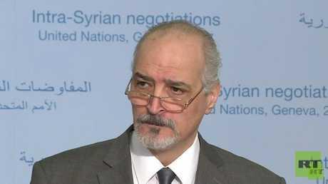 مندوب سوريا الدائم لدى الأمم المتحدة، بشار الجعفري