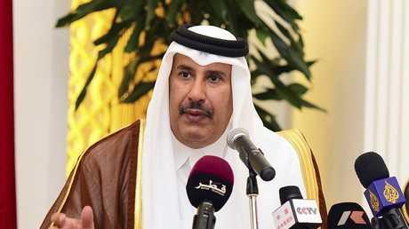 حمد بن جاسم يروج 3 احتمالات لتطور الوضع في سوريا ويفضل الثالث