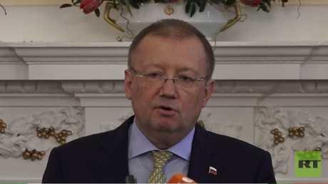 السفير الروسي لدى لندن ألكساندر ياكوفينكو