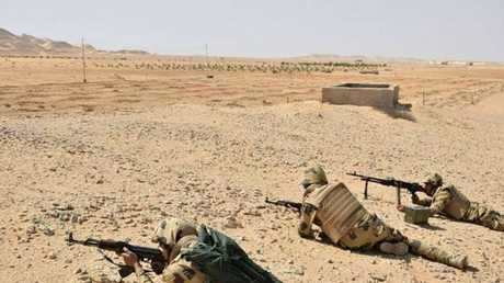 القوات المصرية تحبط عملية إرهابية في سيناء