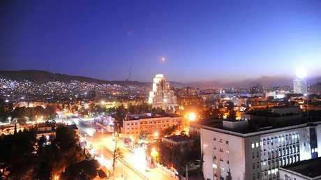 العاصمة السورية دمشق - السبت 14 أبريل 2018 -