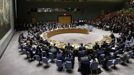 جلسة مجلس الأمن للأمم المتحدة