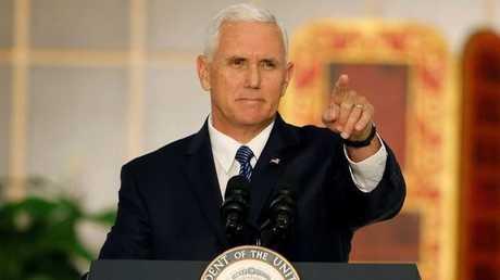 نائب الرئيس الأمريكي مايك بينس