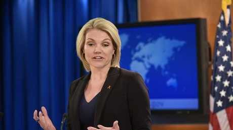 المتحدثة باسم وزارة الخارجية الأمريكية، هيذر نويرت،