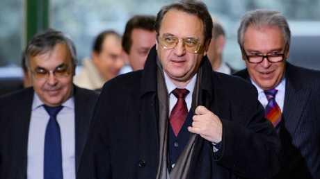 نائب وزير الخارجية مبعوث الرئيس الروسي إلى الشرق الأوسط ميخائيل بوغدانوف
