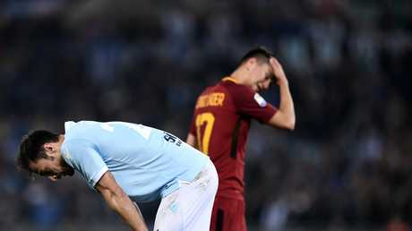 ديربي روما ينتهي بالتعادل السلبي