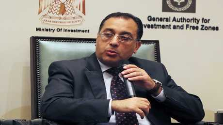 وزير الإسكان المصري مصطفى مدبولي