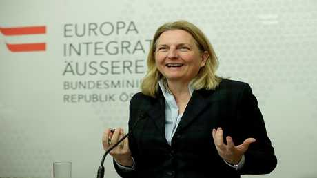 وزيرة الخارجية النمساوية، كارين كنايسل