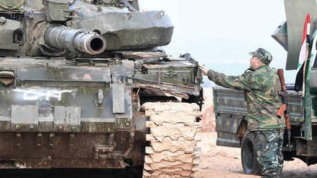 قوات الجيش السوري - صورة أرشيفية -