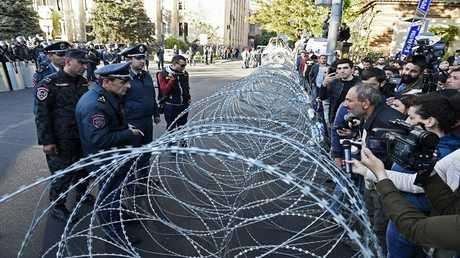 يريفان مظاهرات