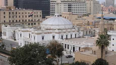 مبنى البرلمان المصري في القاهرة