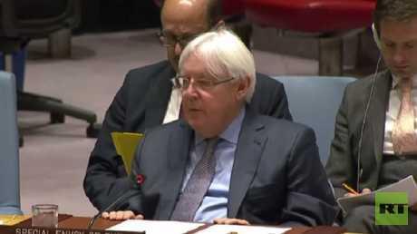 المبعوث الخاص للأمم المتحدة إلى اليمن مارتين غريفيثس