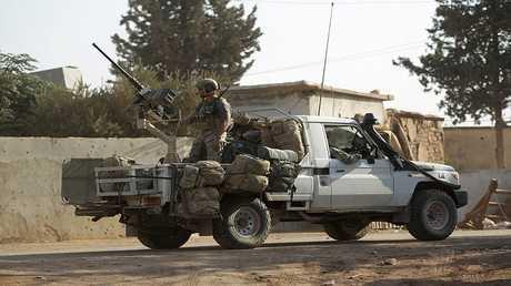 الجيش الامريكي في شمال سوريا