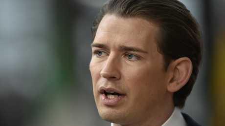 المستشار النمساوي سيباستيان كورتز