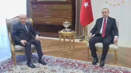 أردوغان يعلن عن انتخابات مبكرة في حزيران