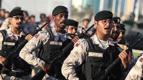 عناصر من الجيش القطري