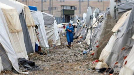 مخيم للاجئين السوريين في تركيا