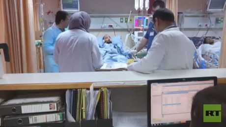 RT تتابع وضع الصحفي المصاب برصاص إسرائيل