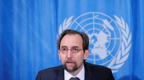 لمفوض السامي للأمم المتحدة لحقوق الإنسان، زيد رعد الحسين