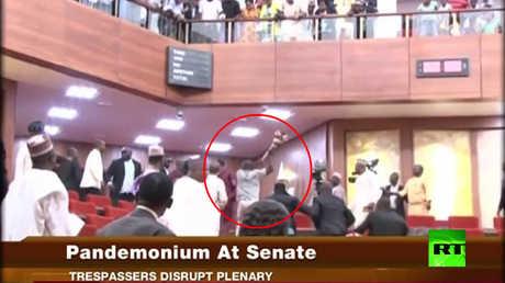 سرقة صولجان رسمي من برلمان نيجيريا