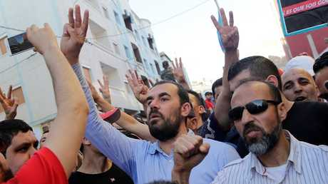 """الناشط المغربي قائد ما يسمى """"حراك الريف"""" ناصر الزفزافي"""