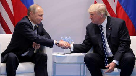 اجتماع بين فلاديمير بوتين ودونالد ترامب