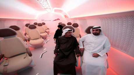 أبو ظبي تشهد إطلاق أول هايبرلوب تجاري في العالم بحلول 2020