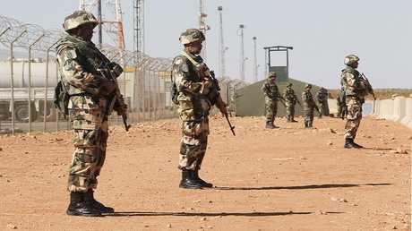 جنود من الجيش الجزائري - أرشيف -