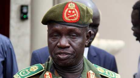 قائد جيش جنوب السودان الجنرال جيمس أجونق