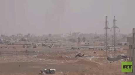 اتفاق لخروج المسلحين من جنوب دمشق