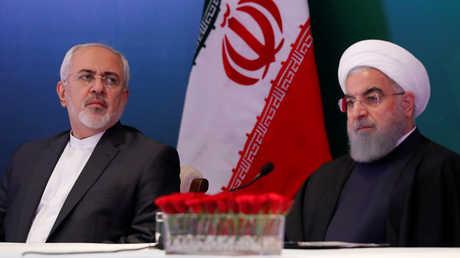 حسن روحاني ومحمد جواد ظريف