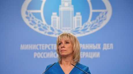 المتحدثة باسم الخارجية، ماريا زاخاروفا