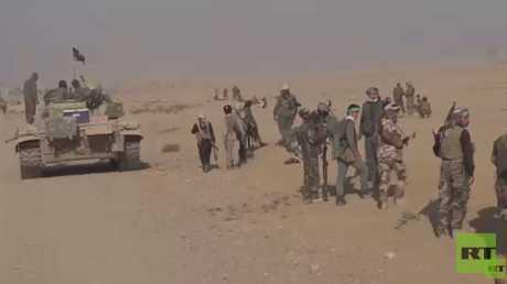 الجيش العراقي يواصل تطهير مناطق من داعش