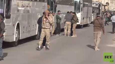 استعدادات لنقل مسلحي القلمون لشمال سوريا