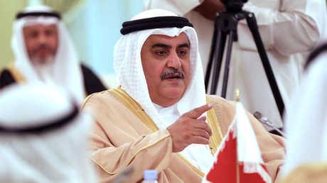وزير الخارجية البحريني، خالد بن أحمد آل خليفة - أرشيف