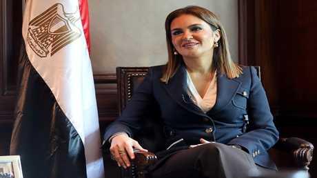 وزيرة الاستثمار والتعاون الدولي المصرية سحر نصر