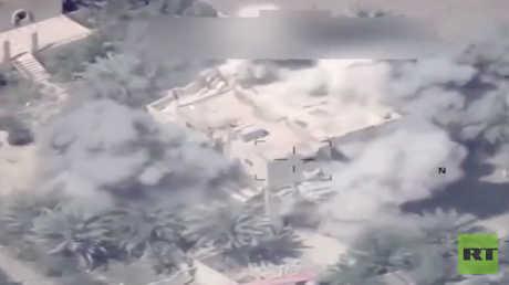 غارة جوية عراقية داخل الأراضي السورية