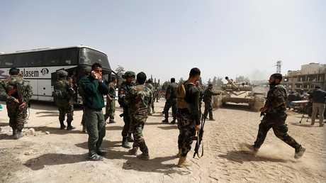 جنود من القوات السورية